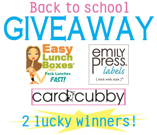 Ends 7/28/13. ENTER HERE: http://www.easylunchboxes.com/blog/stickin-to-the-basics-for-back-to-school-giveaway/
