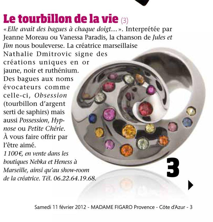 Madame Figaro, février 2012