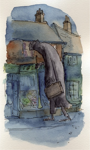 Quentin Blake, BFG the dreamcatcher, story by Roald Dahl