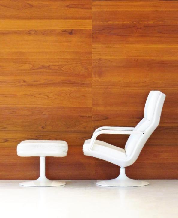 Tweedehands Goed, Vintage retro fauteuil Geoffrey Harcourt Artifort Model F154