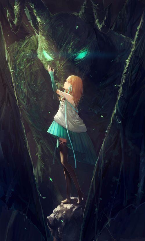 grafika anime, girl, and anime girl