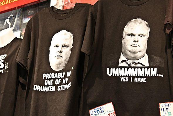 Rob Ford souvenirs