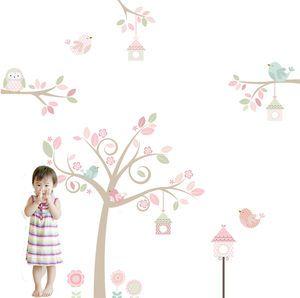 Springtime Tree Fabric Wall Sticker - children's room accessories