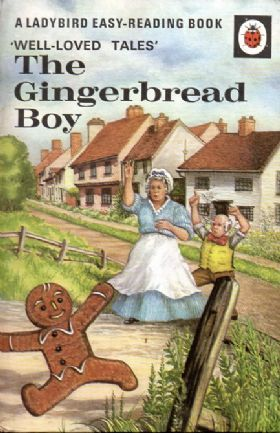 GINGERBREAD BOY Vintage Ladybird Book Well Loved Tales