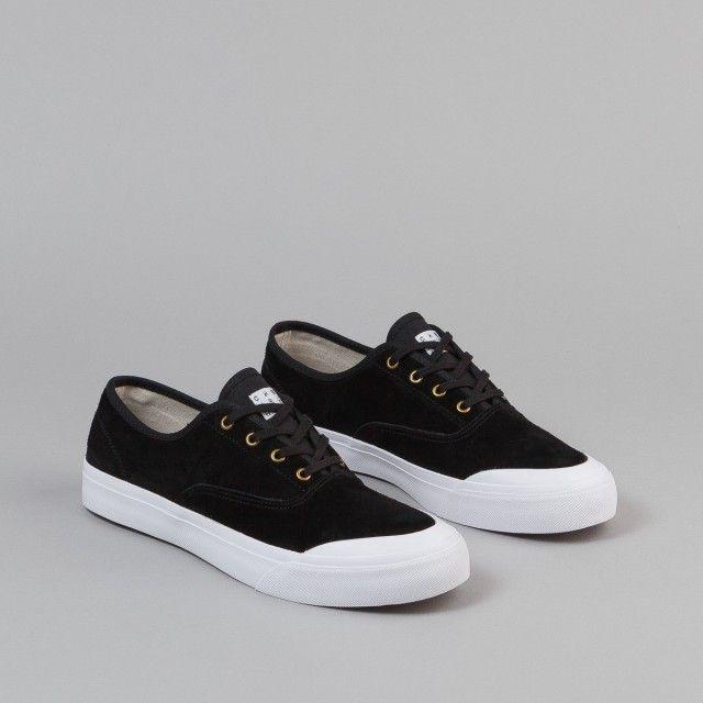 Huf Cromer Shoes - Black | Flatspot