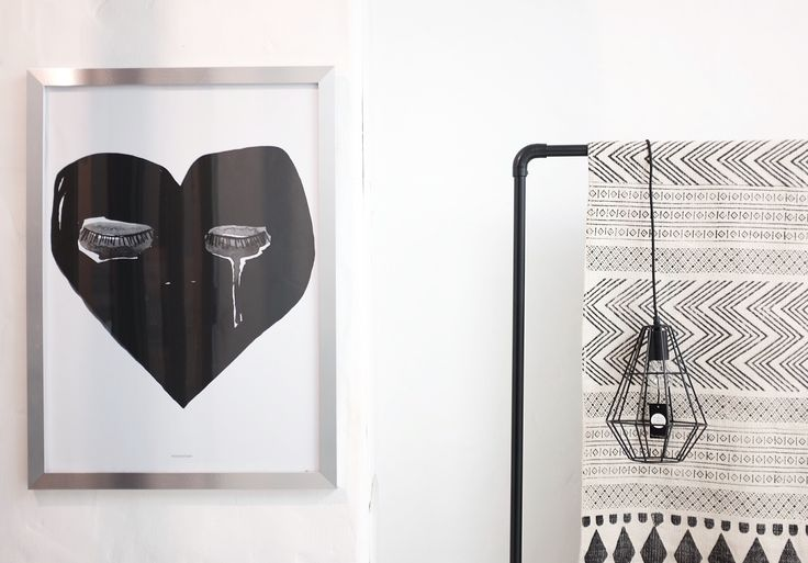 Mood Picture for l'Igloo / Poster from Pax and Hart / Light from Bloomingville / Rug Block from House Doctor / © @mytrendbook