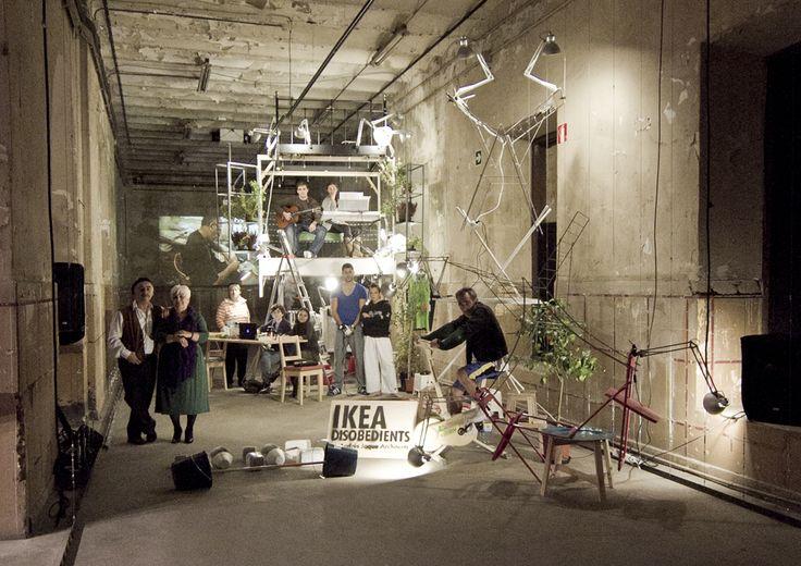 Los Desobedientes de Ikea de Andres Jaque Arquitectos, adquirido por el MoMA