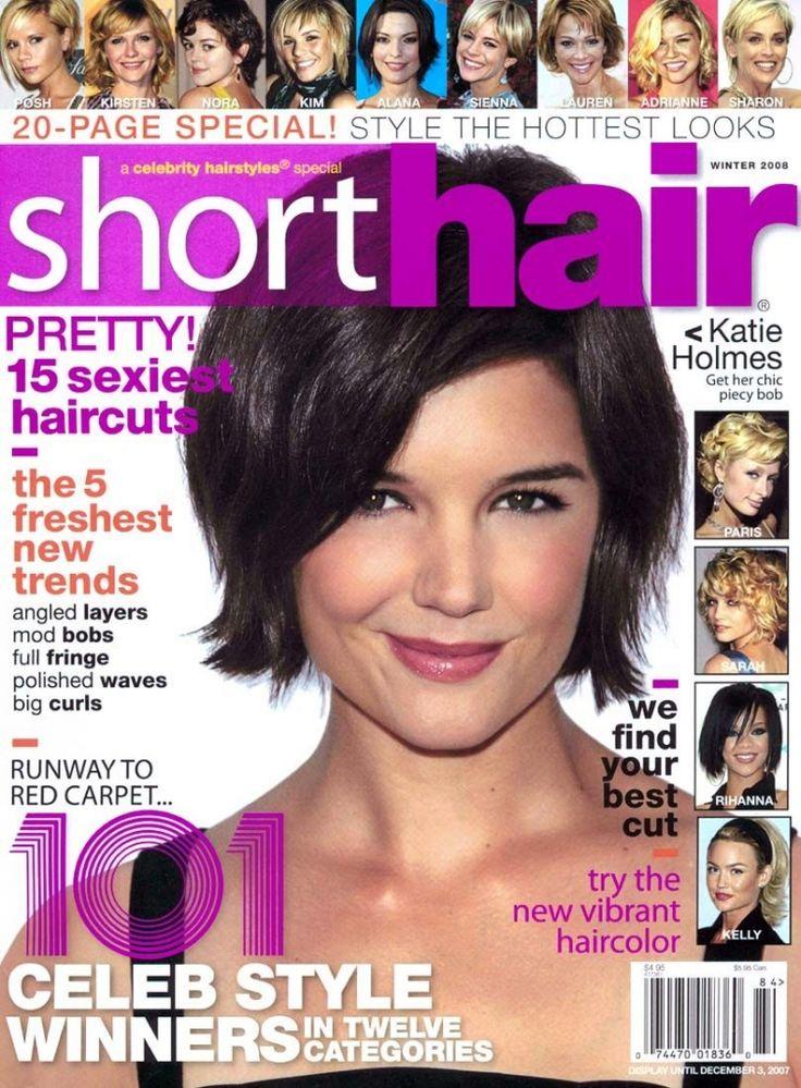 magazine with short hair short hairstyles magazine