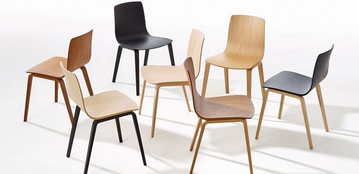 Moderne stoler Aava by Arper, Designer Studio Antti Kotilainen