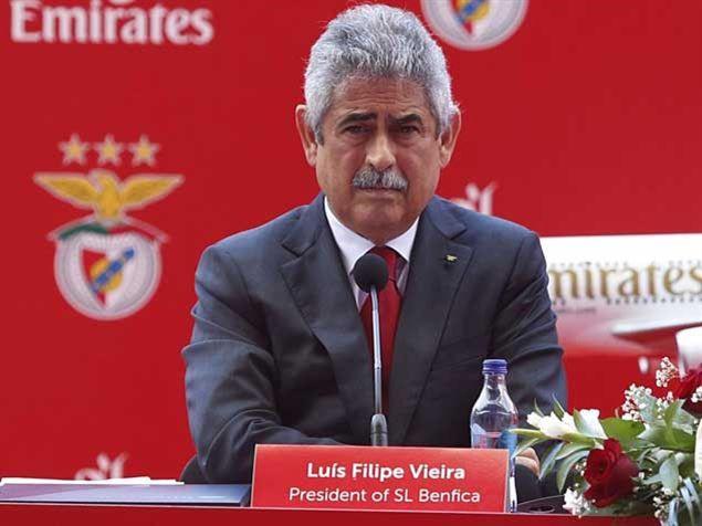 :.: Luís Filipe Vieira: «Estou desiludido mas não surpreendido» - Benfica - Jornal Record :.: