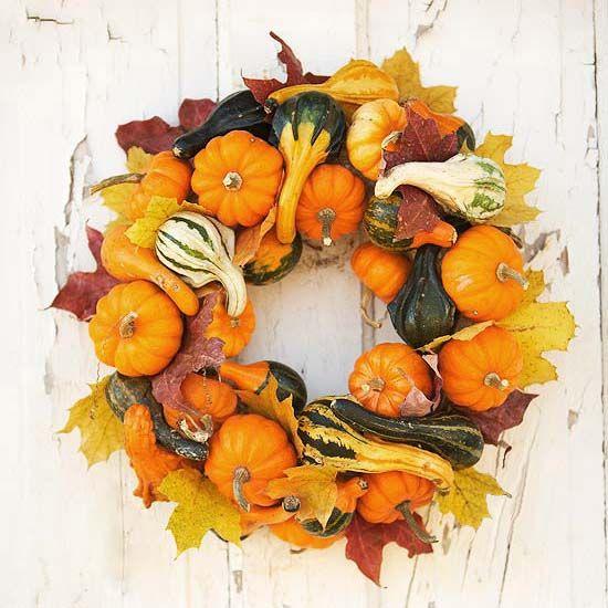 NapadyNavody.sk   Privítajte jesennú sezónu vo veľkom štýle - 21 inšpirácií na jesenné vence