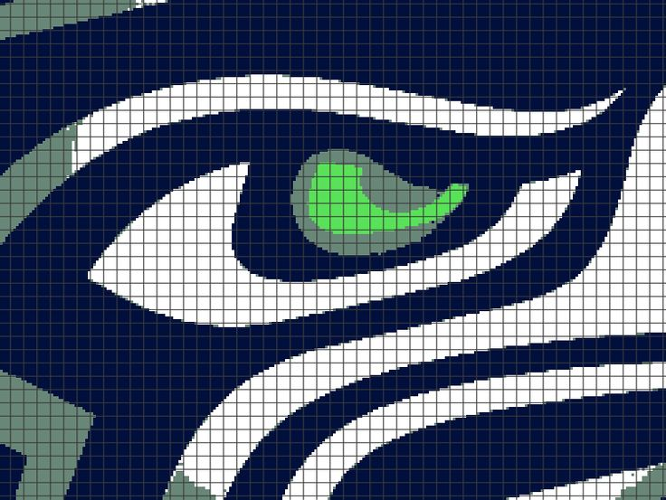 Seattle Seahawks Chart Graph And Row By Row Written