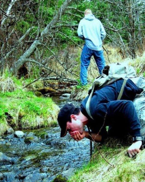 Στη φύση θα πιεις καθαρό νερό μου λέγανε…!!