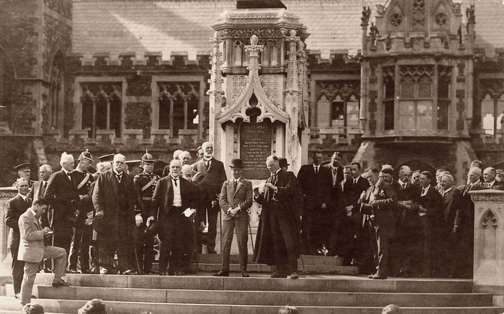 Clifton College 1921