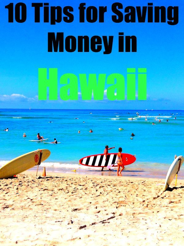 10 Tips for Saving Money in Hawaii - rtw Travel Guide #travel #vacation #hawaii