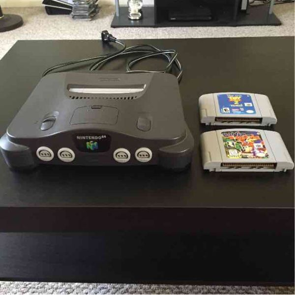 For Sale: Nintendo 64 And Games for $100