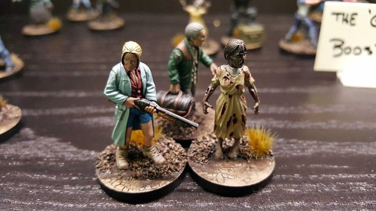 Official Mantic Miniatures for the Walking Dead