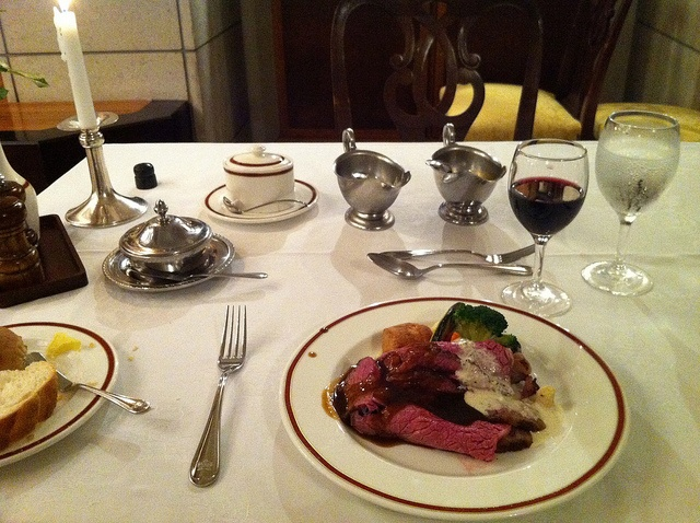 Full course dinner at the Refectory by _Yuki_K_, via Flickr