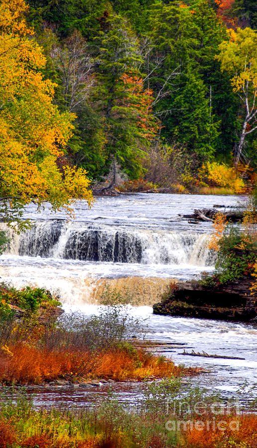 ✯ Lower Falls Of The Taquamenon River - Michigan