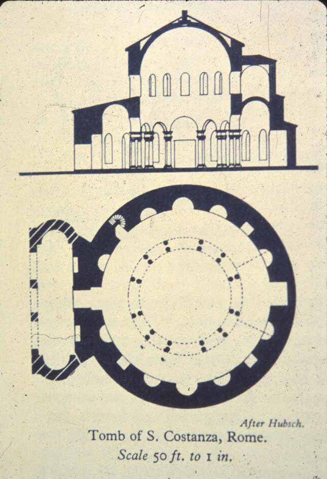 Sv.Costanza,bazilika,tlocrt 4.st