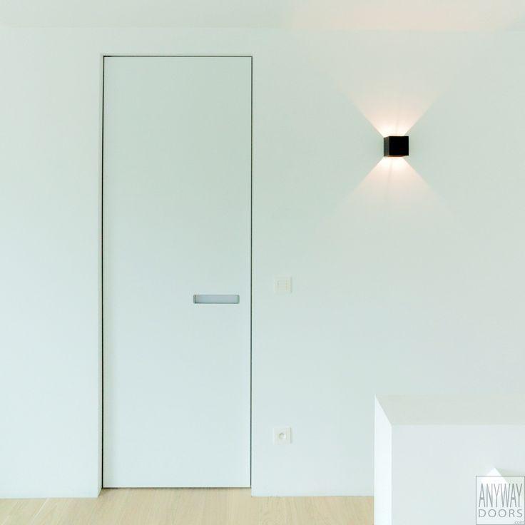 Porte intérieure invisible design