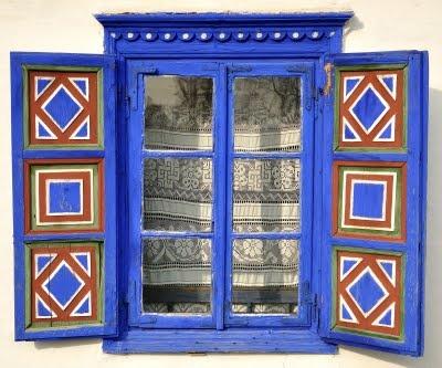 Traditional window in Romania