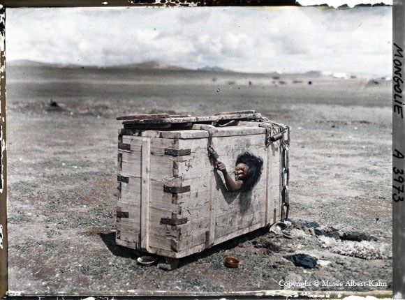 Mongolian woman sentenced to starvation death, 1913