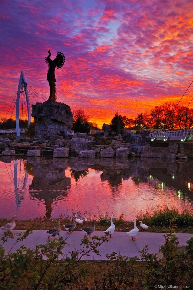 Keeper of the Plains #Wichita #Kansas | Mickey Shannon Photography