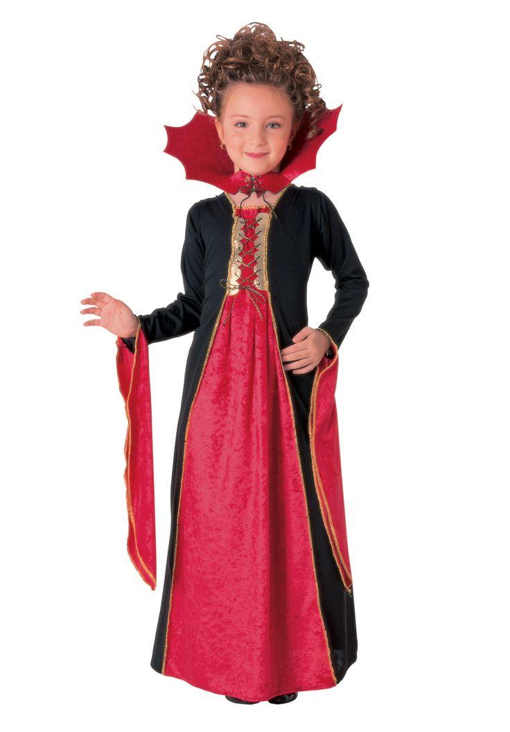 gothic vampiress child costume halloween at escapade uk girls vampire - Halloween Costumes Vampire For Girls
