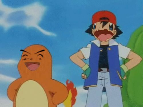 OH ME LORD LOOK AT BULBAZUAR  (i dont watch pokemon)
