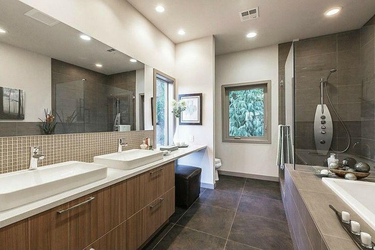Contemporary Master Bathroom Found On Zillow Digs My