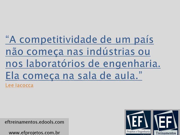 EF Treinamentos http://efct.edools.com/   http://www.efproeng.com.br/