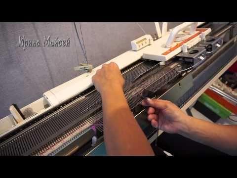 Рукав вязанный сверху 1 часть