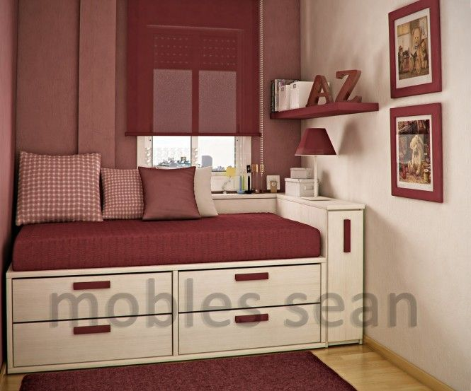find this pin and more on ideas for the house bedroom space saving designs for small kids rooms - Decor Ideas For A Small Bedroom
