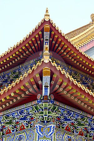 Classical Chinese architecture by Weir2010, via Dreamstime