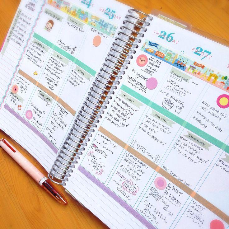 Planning Pretty: Erin Condren Life Planner - Pretty Pastels :)