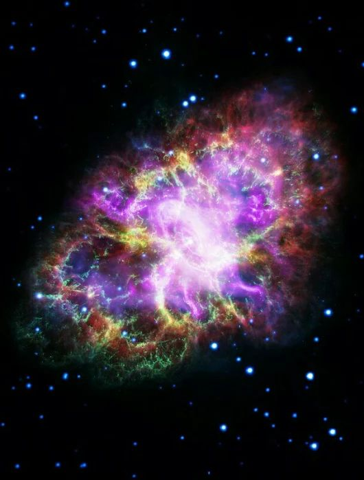 The Crab Nebula is cataloged as M1, the first object on Charles Messier's famous list of things which are not comets. In fact, the Crab is now known to ... - Divyajyoti Sahoo - Google+