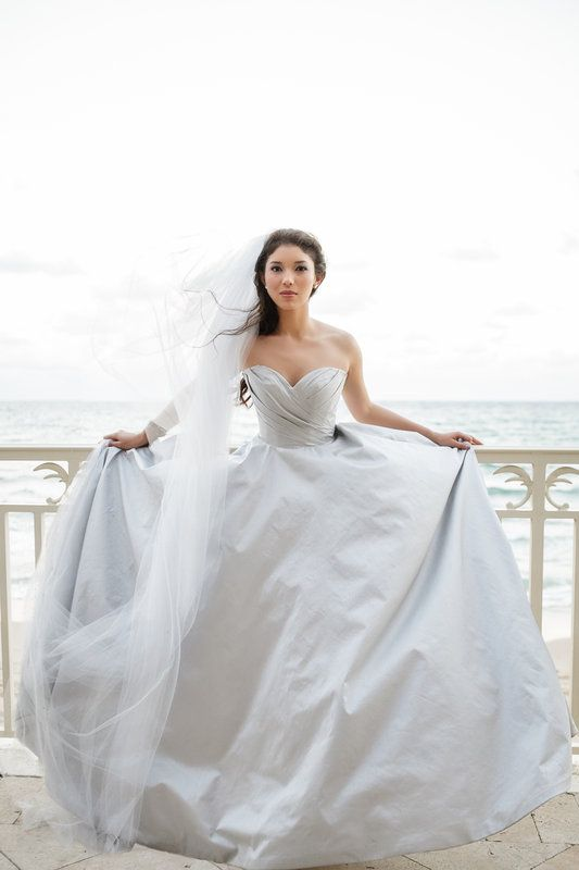 Palm Beach Wedding Dress : Best images about romona keveza gowns on
