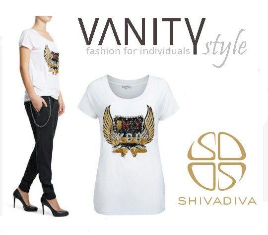 besticktes shirt von shivadiva