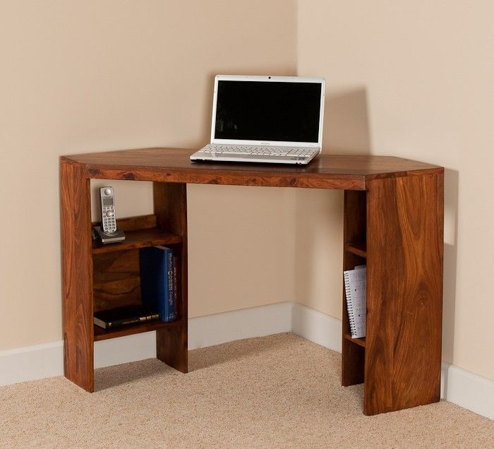 small corner wood home office. corner wooden writing table by bic furniture small wood home office