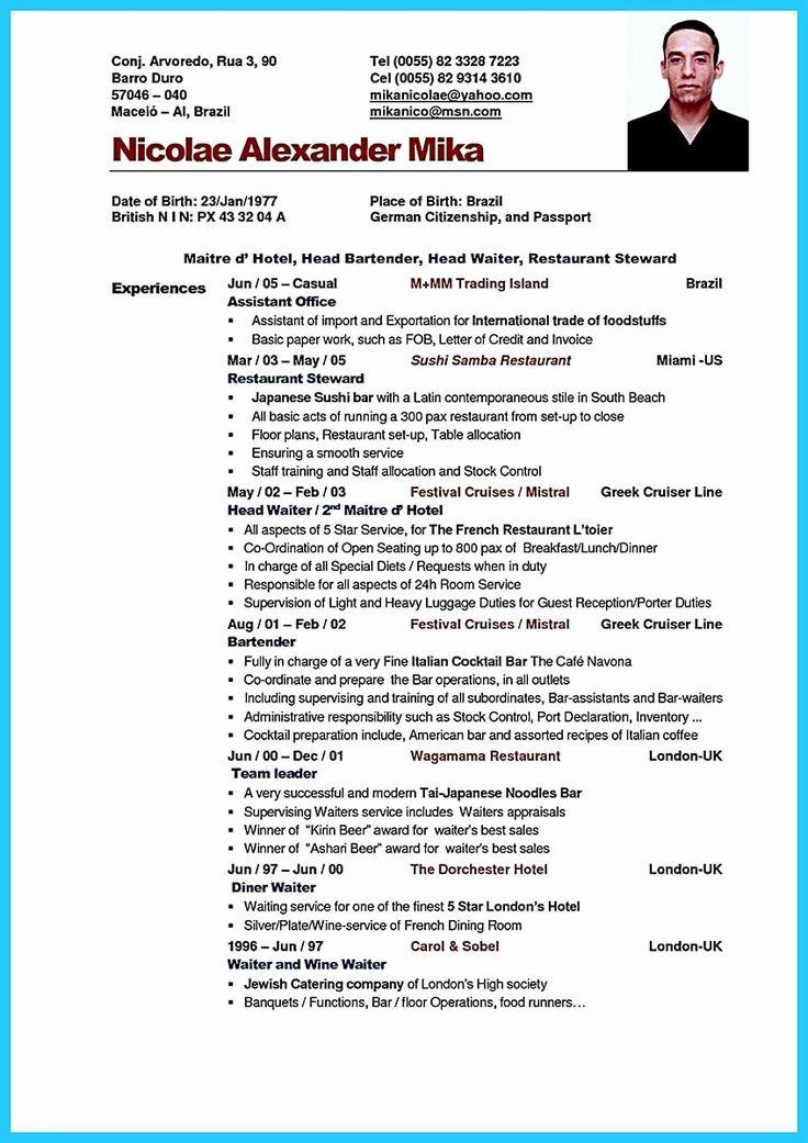 23 Waitress Job Description Resume Resume skills
