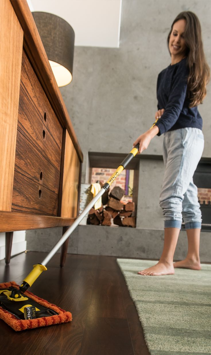 Designed to collect and trap even the finest microdust particles, when used with the ENJO Floorcleaner, the Dust Floor Fibre gets the job done easily and won't disperse dust into the air, unlike traditional brooms and vacuum cleaners.