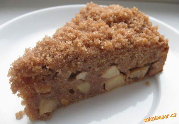 Špaldový koláč s jablky