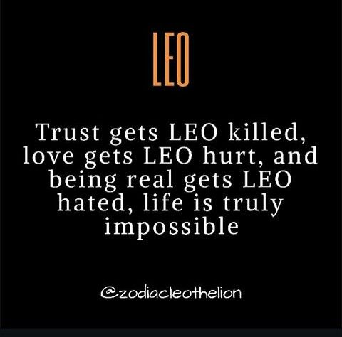 Leo, can't win!