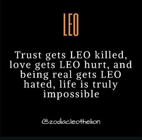Leo, can't win!