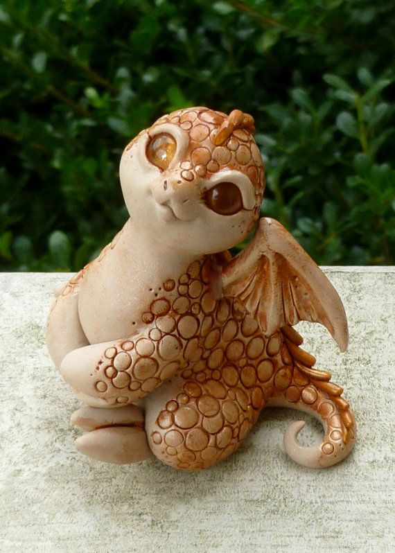 Canna  Myxie Dragon Pal Sculpture by MysticReflections on Etsy