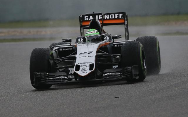 GP de Chine: Hülkenberg pénalisé de trois places sur la grille -                   L'Allemand Nico Hülkenberg (Force India) reculera de trois places sur la grille de départ du Grand Prix de Chine de Formule 1, dimanche à Shanghai, en raison d'une manœuvre dangereuse, a-t-on appris samedi soir. http://si.rosselcdn.net/sites/default/files/imagecache/flowpublish_preset/2016/04/16/764998570_B978413518Z.1_20160416224821_000_GOE6JTH0C.3-0.jpg