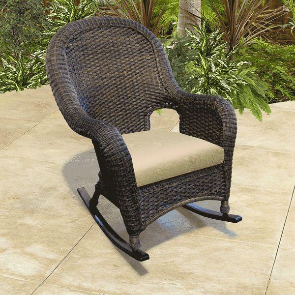 Outdoor Wicker Rocking Chairs Superior Outdoor Rocking