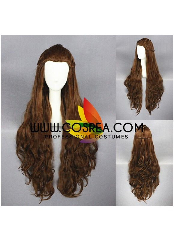 Wig Detail The Hobbit Tauriel Cosplay Wig Includes: Wig, Hair Net Important Information: Fitting - Maximum circumference of 55-60CM Material - Heat Resistant Fiber Style - Comes pre-style as shown in