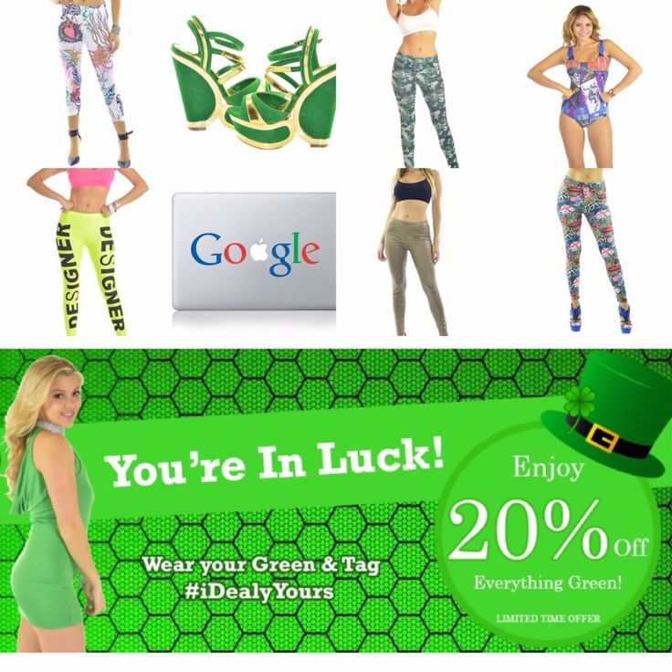 HAPPY ST. PATRICKS DAY  20% OFF EVERYTHING GREEN✅ From MARCH 1⃣ - 1⃣7⃣ At Midnight --- www.iDealyYours.com #iDealyYours #SexybackBoutique #Sunday #sundays #SundayMorning #SundayNight #SundayFunday #SinDay #SinfulSunday #SundayBest #HappyStPatricksDay #StPatricksDay #StPatricks #StPatrickDay #StPaddysDay #StPattysDay #love #cool #beer #greenbeer #clover #green #sale #sales #salesalesale #discount #loveit --- CHECK US OUT AT iDealyYours.
